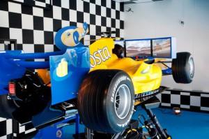 simulateur de formule 1 -  Costa