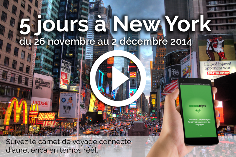 Application Memotrips à New York