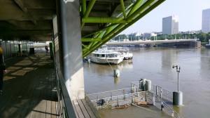 Cité de la mode et du design - 7 juin 2016 pendant la crue de la Seine
