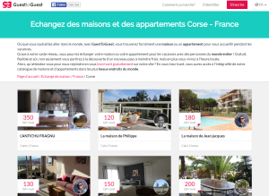 Guest to guest - Echange de maison