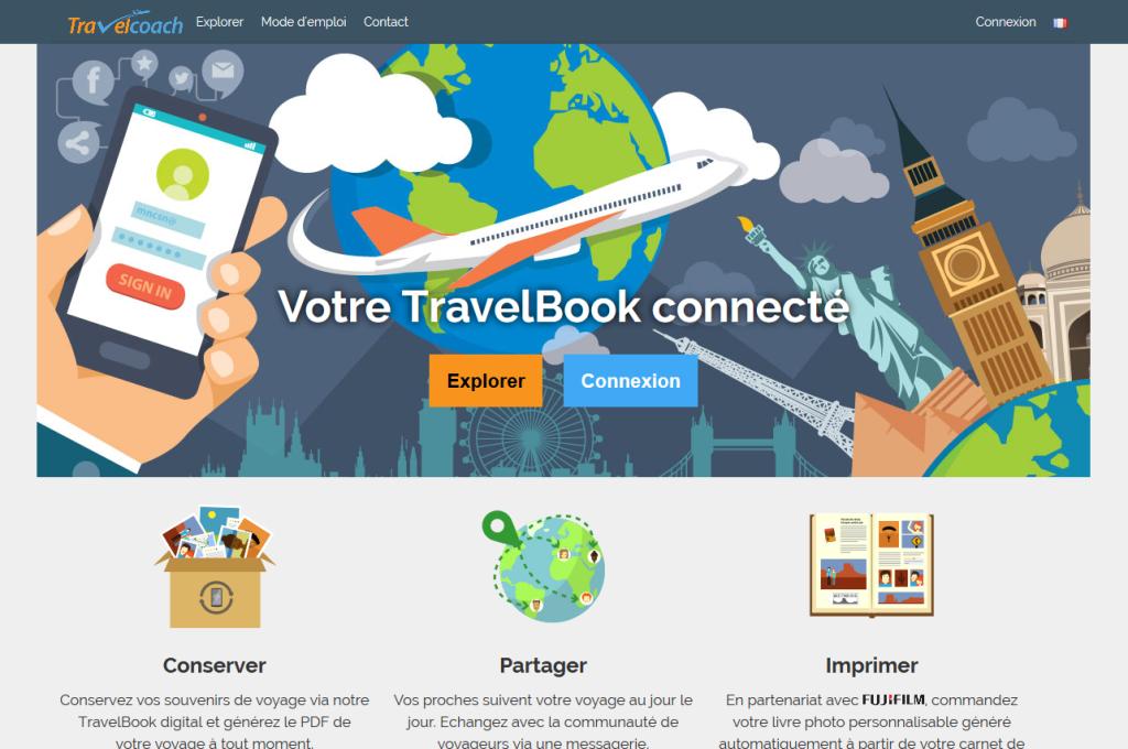Homepage du service